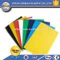 высокое качество дешевые 3мм 5мм гибкий жесткий ПВХ цветные пластиковые листы