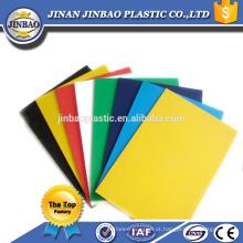 alta qualidade barato 3mm 5mm flexível de plástico rígido colorido pvc folhas