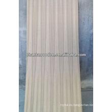 Teca natural Q / C madera contrachapada con núcleo de madera dura