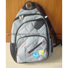 Saco de computador de alta qualidade, mochila de ombro dupla