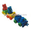 JQ6026 Plastik Tier Zug Bausteine Link Spielzeug zum Verkauf