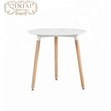 Mesa de centro de madera con patas Mesa de comedor de MDF