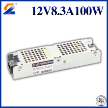 12V 8.3A 100W Slim Power Supply LED