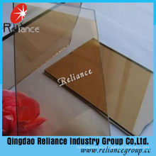 Vidrio reflectante unidireccional de bronce de 4 mm con certificado Ce