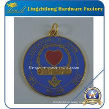 Colgante de joyería de metal Masonic Logo Charms