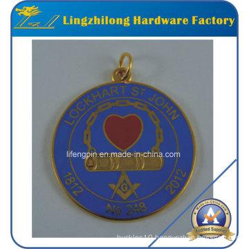 Metal Jewelry Pendant Masonic Logo Charms