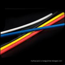 Sleeving стеклоткани силикона термообработке насыщенным Втулка стеклоткани изоляции провода трубки 1,2 кв 1.5 кв 4 кв 7кв