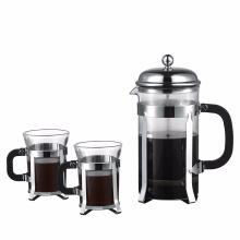 Imprensa francesa café e chá Maker pote de café de vidro