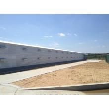 Prefab стальная структура дом птицы/курятник (сайт kxd-SCT001)