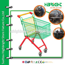 supermarket nestable small size trolley for children
