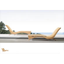 Meubles de salon/jardin meubles/extérieur en osier / rotin meubles/Patio Sun Bed (5017)
