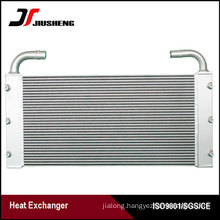 Bar And Plate Excavator Oil Cooler For Hitachi ZAX210-3