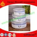 12/13/15cm Diameter 3PCS Set Enamel Mixing Bowl