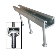 Embedded concrete anchor seismic bracing channel fitting