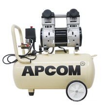 Low Noise Electric 1HP 2HP DC Direct Portable airbrush Air-Compressors 3HP Silent Silence Oil Free Air Compressors With 50l Tank