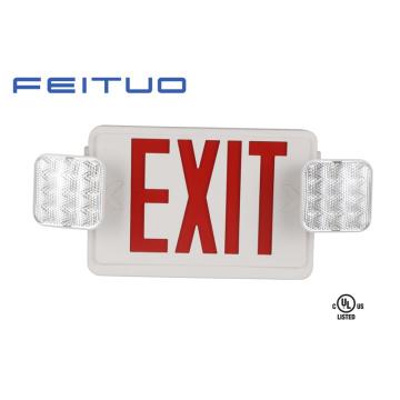 Luz de emergência, UL Combo, sinal de saída, Cadastre-LED, sinal de saída de emergência
