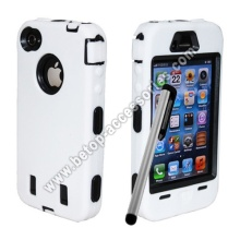 Robot Rugged Case For iPhone 4s