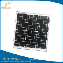 Module solaire monocristallin de meilleure qualité à un prix compétitif (SGM-40)