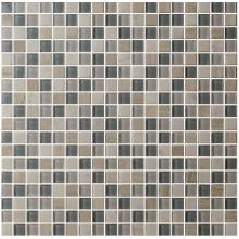 Carreaux de mosaïque en verre de forme carrée Mixcolor 300*300*4mm