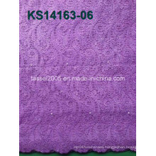 High Quality Spandex Swiss Lace Cord Lace Fabric Cotton Lace Fabric Low Price