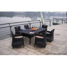 Rattan/Peddigrohr Tisch und Stuhl-Sets (7025)