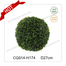 D27cm Plastic Green Party Decoration Christmas Bauble Glass Craft