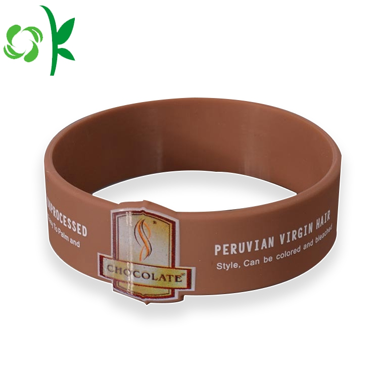 Silicone Brown Bracelet