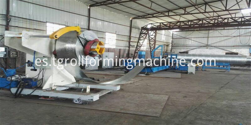 Steel Culvert Pipe Machine