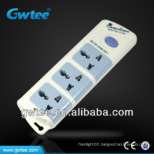 3 gang electrical power bar with hanging hole FXD-F31A