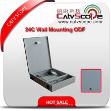 Caixa de distribuição da montagem da parede 24c / ODF