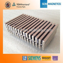 Professional Customized N52 N50 Magnets rectangular Magnets block magnetic for dc motor with RoHS Certificate