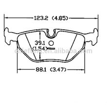 D396 for BMW bosch brake pads