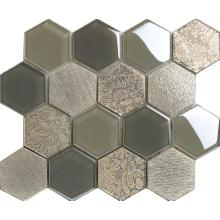 Big Hexagon Cold Spray Decoration Mosaic