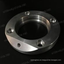 Piezas que trabajan a máquina de aluminio del CNC de encargo de alta calidad que trabajan a máquina para el uso industrial del equipo, calidad aceptada de la pequeña cantidad, estable