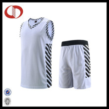 Mans Quick Dry Basketball Uniforms with Striped 2016