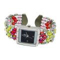 Рекламные Кварцевые Браслет Браслет наручные часы для дамы