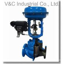 Válvula Globe de control de regulación eléctrica para control de fluidos y gases