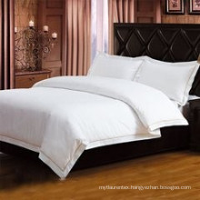 200TC 100% Cotton white bed sheets for hotels and hospitals