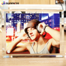 sublimation glass photo frame BL-05 230*180*10