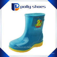 Moda Cartoon Kids Novo estilo PVC chuva sapatos