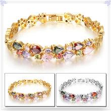 Crystail jóias acessórios de moda pulseira de cobre (AB235)