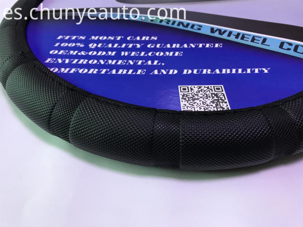 anti-slip pvc steering wheel cover