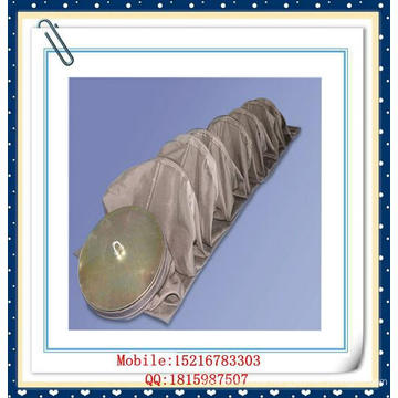 Libre de álcali E-PTFE bolsa de filtro de fibra de vidrio para la aleación de hierro