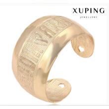 Mode Xuping 18 Karat vergoldete Big Wide ländlichen Stil Nachahmung Schmuck-Set-51467
