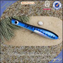 WDL033 non peinte appât de pêche popper appâts pour pêche articles en bois popper