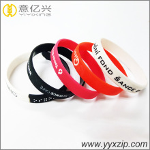 Sport bangle fashion accessories custom silicone wristband