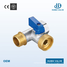 Nickel Plated Brass Angle Valve with Ce Certificate