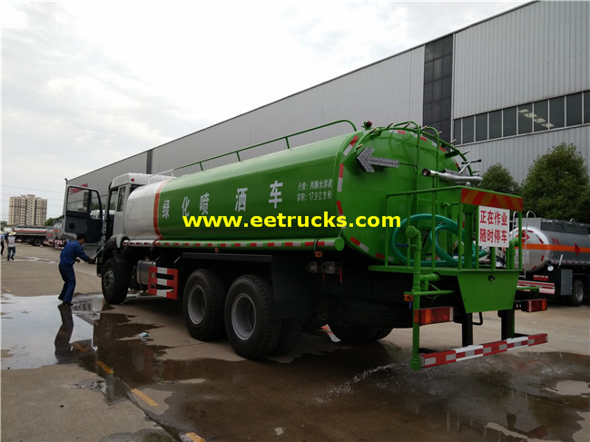 16 CBM Sprinkler Water Trucks