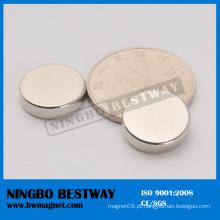 Ímãs pequenos de disco magnetizado axialmente