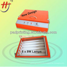 Mini exposure machine for polymer plate